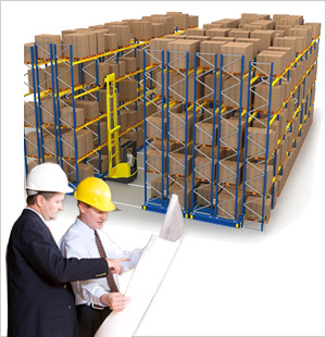 High Density Pallet Racking