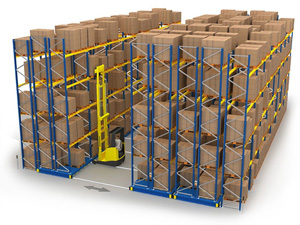 Mobile Racking Storage