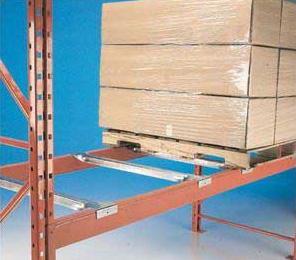 Pallet Rack Safety Bars