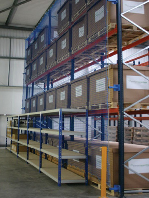 Pallet Rack Safety Netting