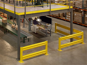 Warehouse Guard Rails